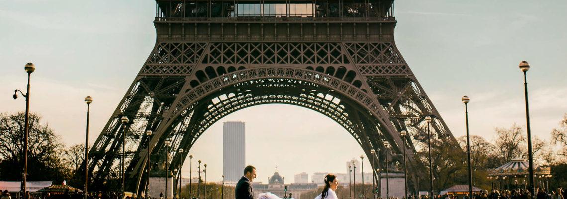 Paris Wedding Photographer Alyson & Jeffrey