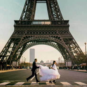Paris Wedding Photographer Alyson & Jeffrey
