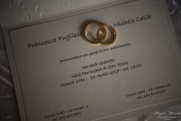 francesca e michele wedding in italy