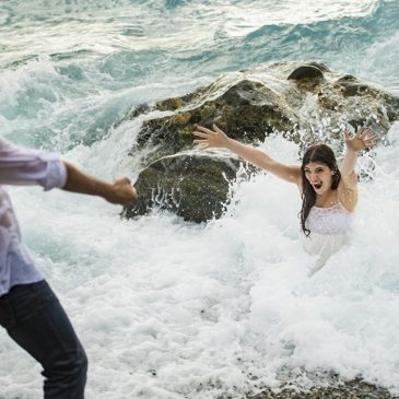 A crazy Prewedding In italy