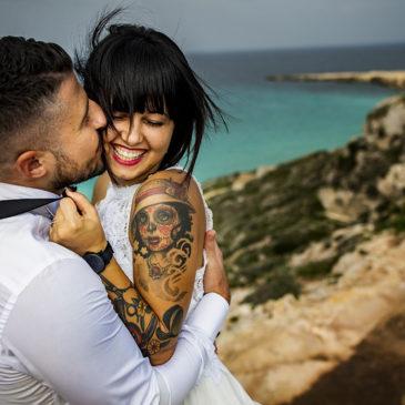 Giuseppe e Antonella Egadi Island