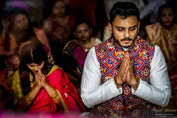 indian wedding pray